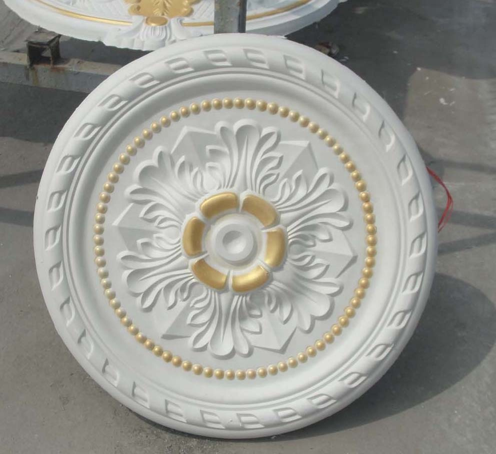 pop design gypsum cornice <strong>moulding</strong> / gypsum cornice mould and gypsum lamp disk for interior decorative