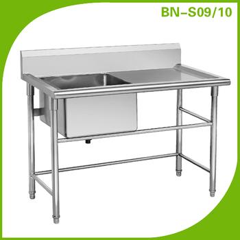 Hot Sale Stainless Steel Kitchen Sink Bn-s09/10 - Buy Kitchen Sink ...
