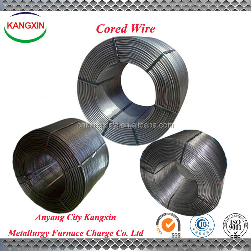 Minerals Metallurgy Of Casi Cored Wire