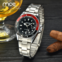 FOKSY MCE Branded 2015 New Stainless Steel Watch Men,Automatic Mechanical Watch 01-0060034