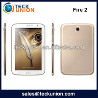 Fire 2 8.0inch big touch screen,8GB flash,MTK6589,3500mah Android 3G mobile phone
