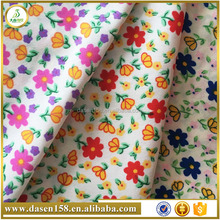many kinds of small flowers printed polyester fabric for home textile