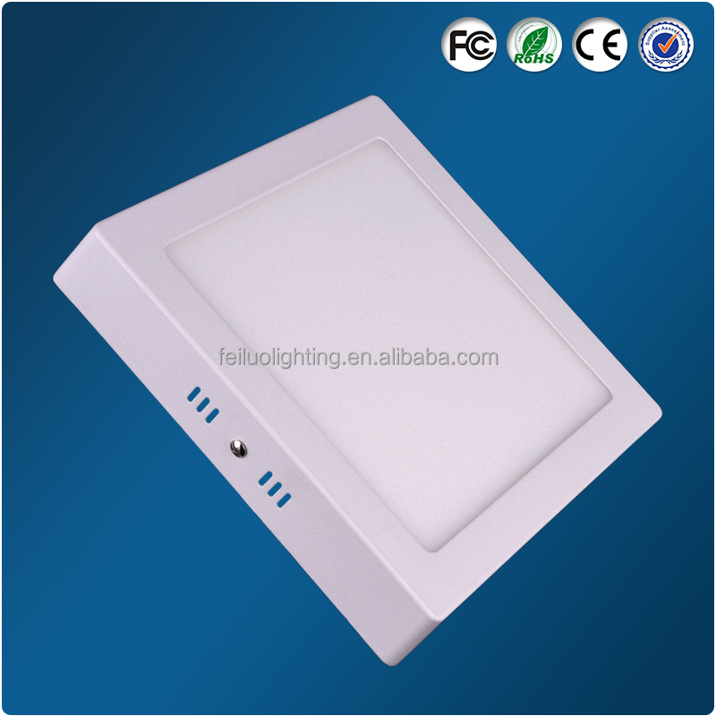 Best price surface mounted square sky led lightings panel 18w