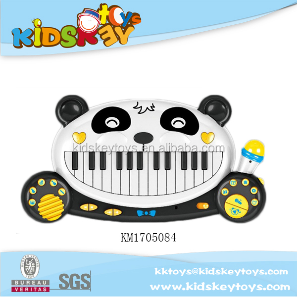 Cartoon 28 keys electronic piano with mircophone and USB