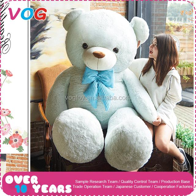 Best children girl birthday toys gift pink and blue plush sleeping hold teddy bear custom