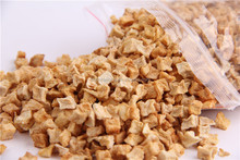 China wholesale natural air dried apple granule for birds feed