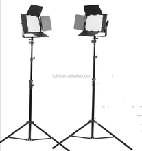 Tolifo High Quality LED 900 Bi Color Photography Video Light Kit