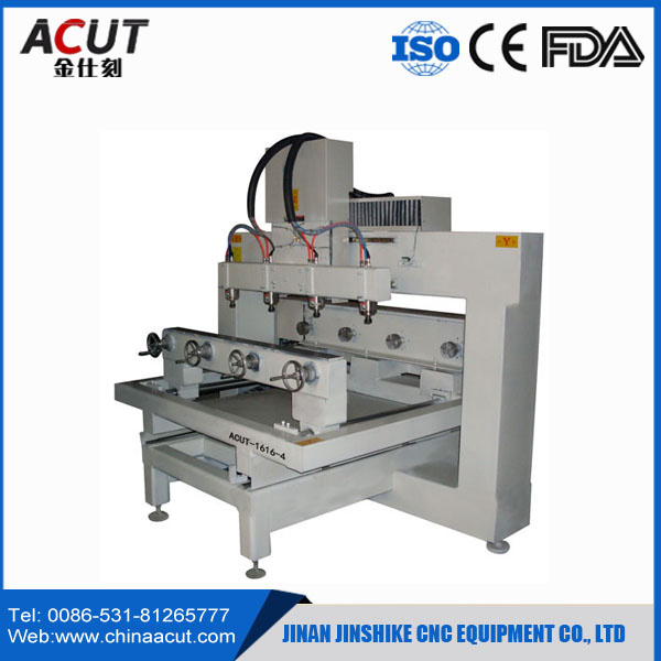 cnc multi spindle 4 axis/rotary engraving machine/wood turning machine for 3d woodworking