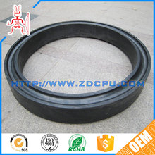 Factory machined anti wear different color viton flat rubber o ring