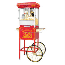8oz Commercial Popcorn Machine with Cart 5850 Classic SP825FBG