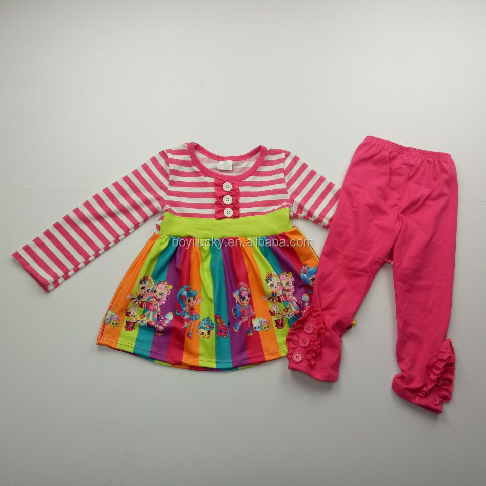 Princess Girls Boutique Fall /winter Clothes Wholesale Childrens Christmas Clothing Sets Baby Girl Boutique Clothing Sets