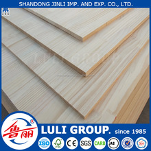 rubber wood pine finger joint laminated board/wooden panel /lumber from China manufacture LULIGRUOP