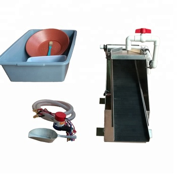 Portable and detachable for pure fine gold gold recovery machine