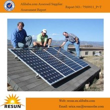 Supply solar panel with high quality thin film flexible roofing solar panel