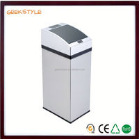 garbage bin for office usb alarm sensor