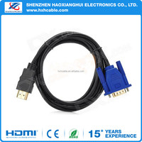 1.8M HDMI to VGA Cable with Audio Input