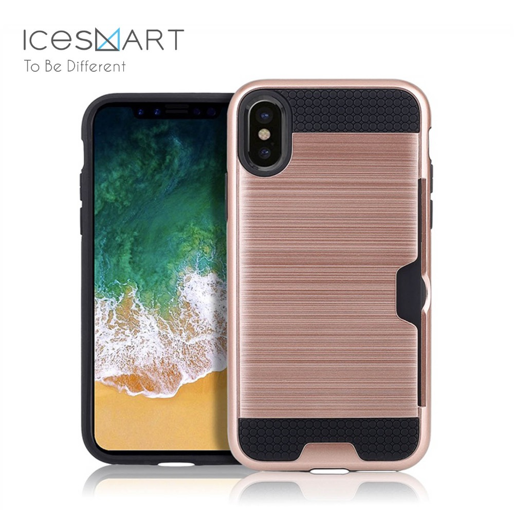 with credit card slot wallet TPU phone case for samsung, card slot case for iPhone ,mobile phone shell