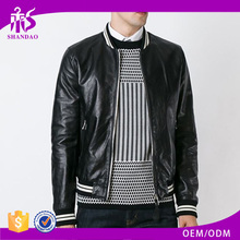 Newly Arrived Wholesale Plain Dyed Men Embossed Genuine Leather italian leather coats