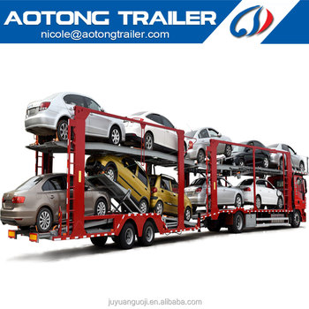 best-selling car trailers transporters for sale with 3 axle