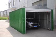 good quality prefabricated garage with side door