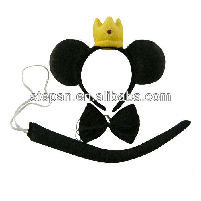 HB-53042 Prince of Mickey Mouse Fancy Head Band