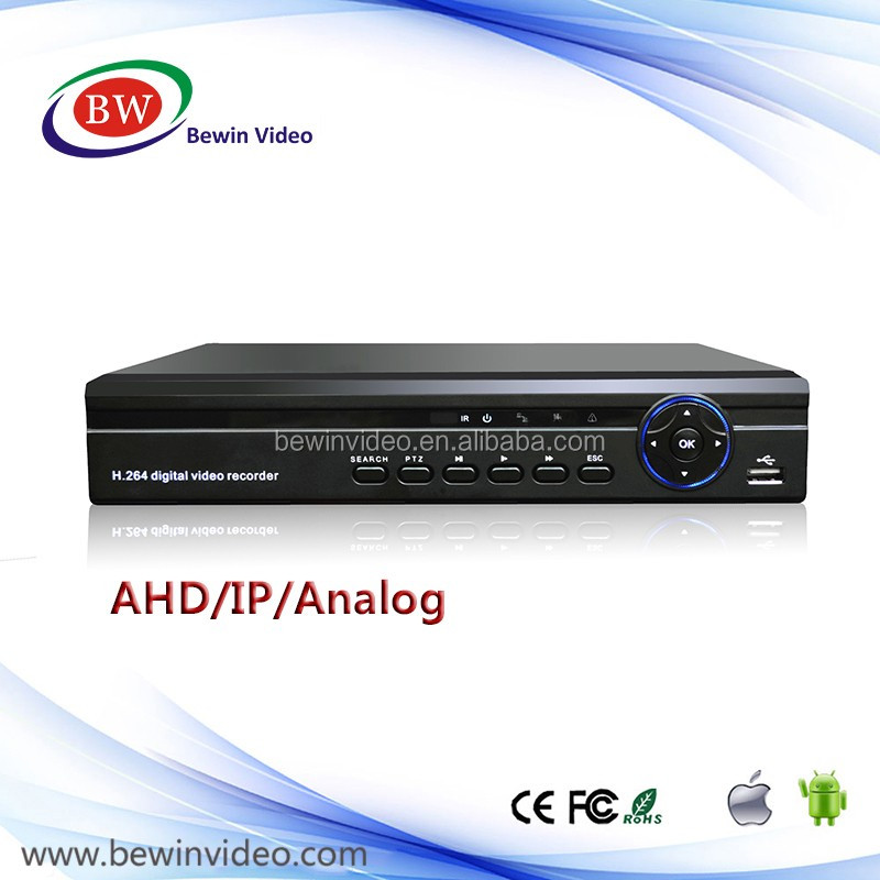 New products AHD DVR 4CH 1080N Realtime DVR recorder 4CH Audio input RS485 P2P AHD DVR