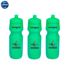 Promotional custom reusable gym sports plastic water bottle