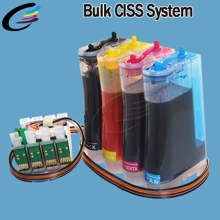 Bulk Ink System for Epson XP-332 XP-432 XP-442 CISS with Chip T2991