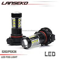 2 years warranty light led light with high lumen 750lm DC12V-24V led fog light for car