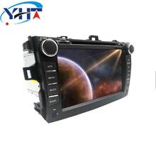YHT 8 inch 2 din Android 7.1 car dvd player for Toyota Corolla Quad Core 8 inch 1024*600 screen car stereo