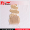 Vipsister Hair blonde sex doll lace closure piece,blonde hair bundle