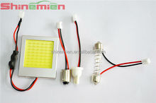 Car COB dome LED lamp PCB reading bulb