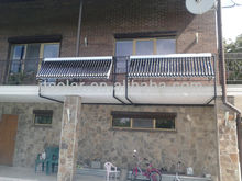 Short Vacuum Tube Heat Pipe Solar Collector For Balcony