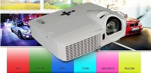 VS267 HDMI 1080P home theatre 3D short throw data led projector 6000 lumens