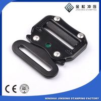 Customized own logo small accessories metal buckles for safety belt