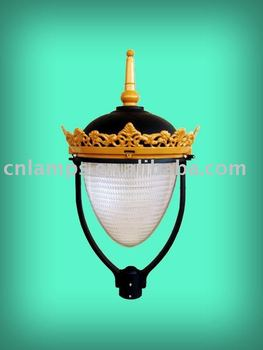 IP65 aluminium outdoor crown lamp (DS5481)