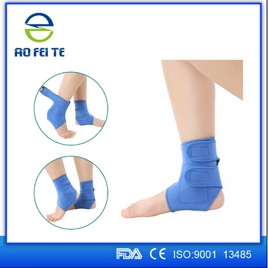 Aofeite Elastic Compression Foot Ankle Warp Velcro Adjustable Ankle Brace Support