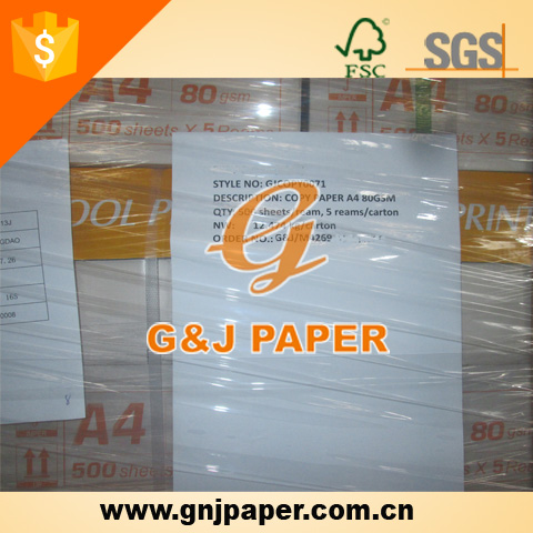 Virgin Wood Pulp Brands of A4 Copier Paper Manufacturers