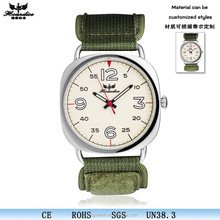 fashion playboy band nylon sport quartz watch