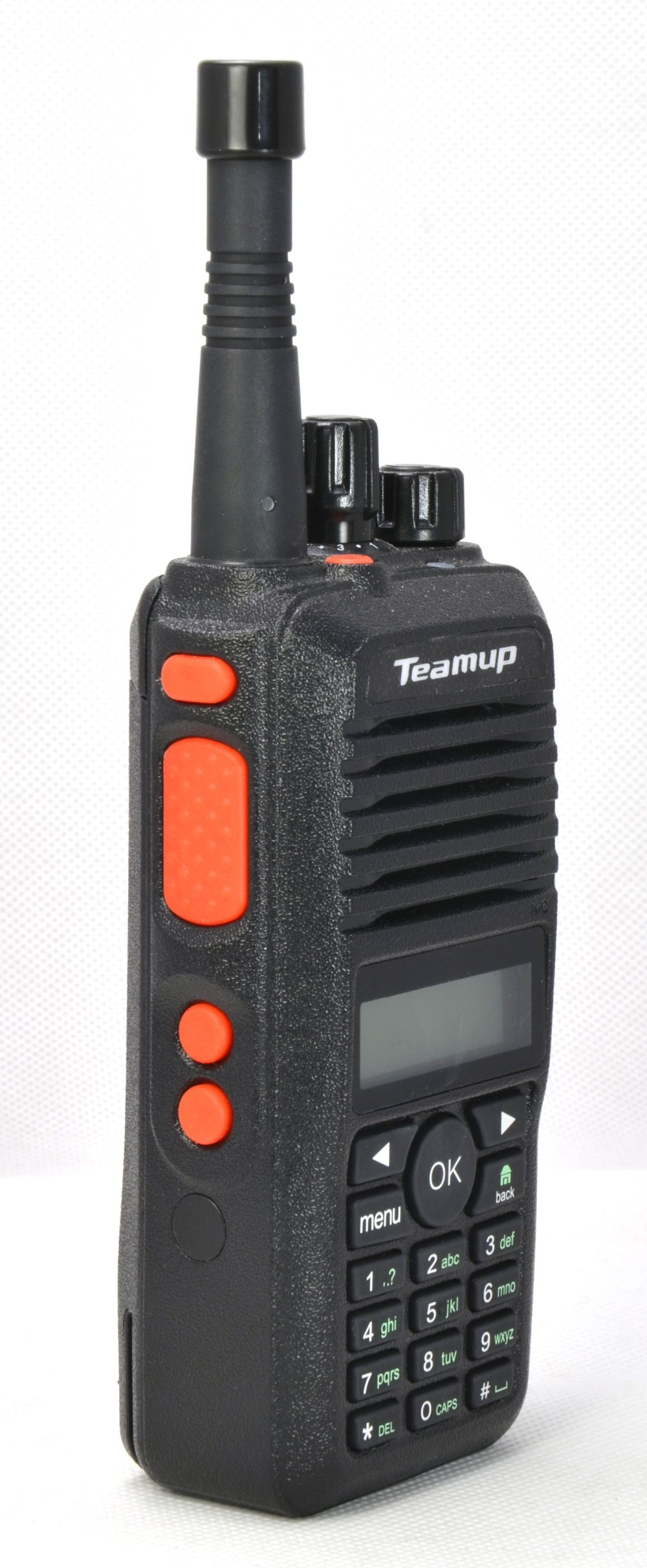 Hot popular best handheld 2G /3G/ GSM walkie talkie with sim card ,Teamup radio HJ780
