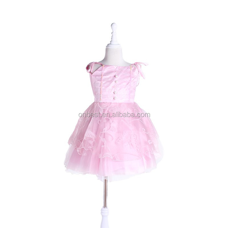 Factory Price one piece girls party dresses elegant princess costume Festival & party supplier