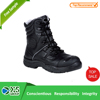 Anti-Static Feature Leather police safety shoes