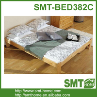 2016 simple double wooden bed design