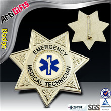 Factory direct sale metal deputy sheriff star metal badge