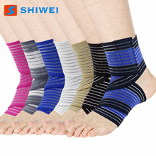 OEM & ODM wholesale sport protector nylon elastic ankle support brace foot sleeves