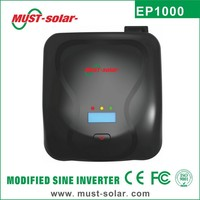 <Must Solar> New panel EP1000 series High frequency modifed sine wave 12v dc power supply 600w inverter