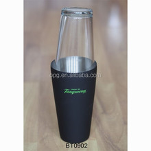 750ml S/S Stainless steel Boston shaker Tanqueray as bar advertising item BT0902