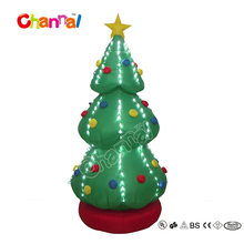 8ft Giant Inflatable Christmas tree yard decorations with LED lights
