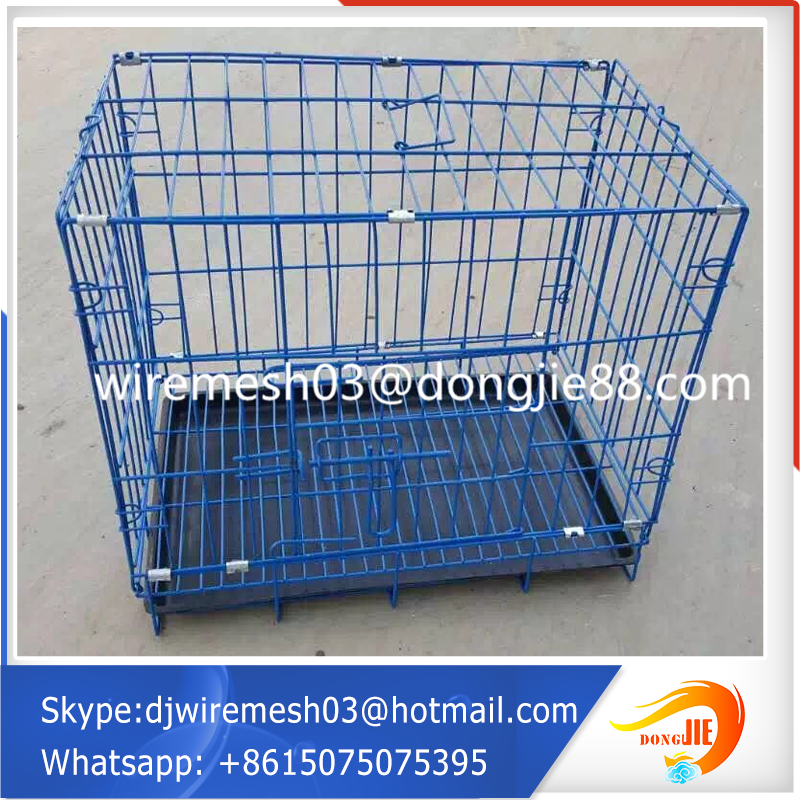 Large animals wire mesh cage factory