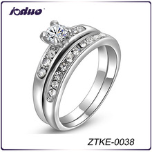 Wholesale 18KGP Ring Set For Women